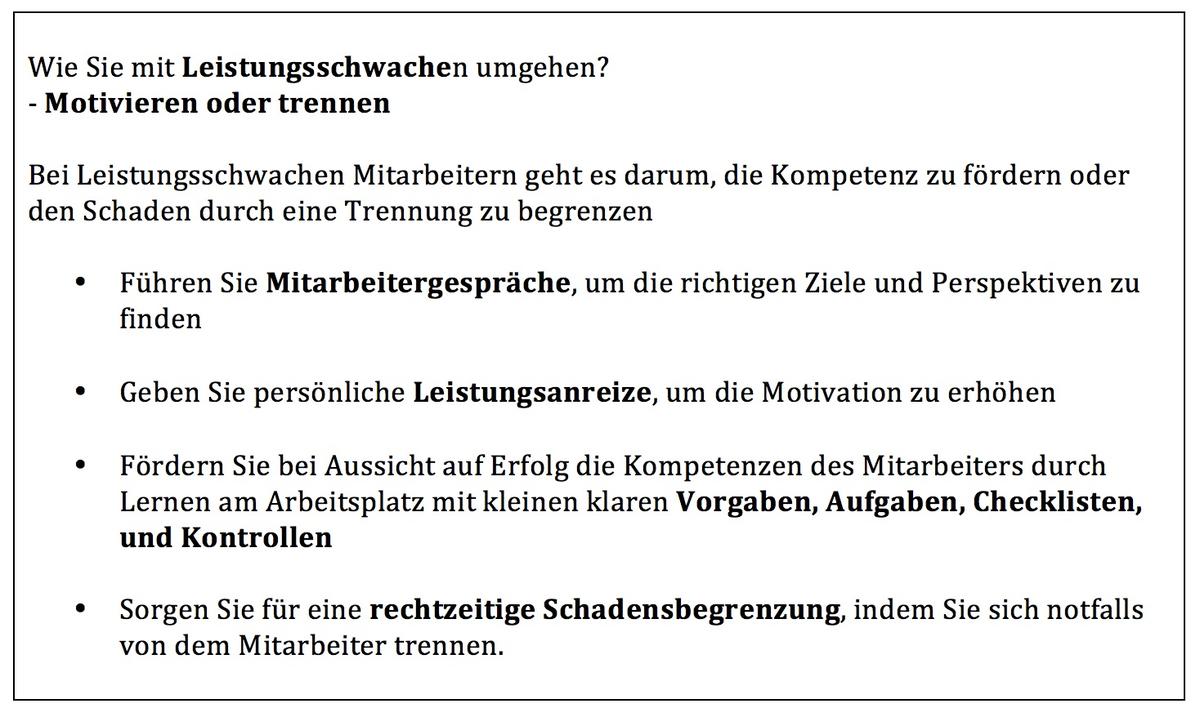 Fein Checkliste F R Die Mitarbeitertrennung Galerie - Entry Level ...