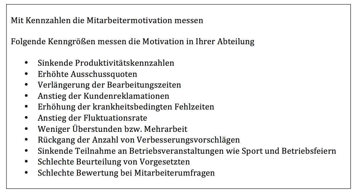 Wie Sie die Motivation Ihrer Mitarbeiter messen? /Erfolgs-Impulse ...